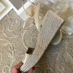 kate spade Shoes - New! Kate Spade Espandrille Wedge Sandals